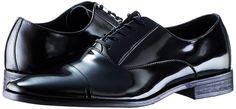 Amazon.com | Calvin Klein Men's Radley Box Smo Tuxedo Oxford, Black, 8 W US | Oxfords
