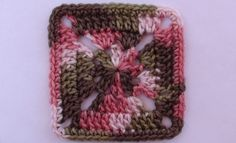 Camo Crochet Afghan Square Video Tutorial and Pattern at http://youtu.be/oATC-wi1TRk