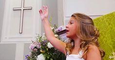9 year old singing amazing grace