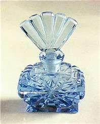 Blue Antique perfume bottle
