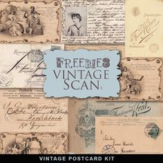 Freebies postales antiguas