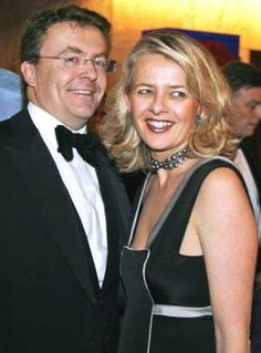 Dutch Prince Johan Friso, 44, (shown here with his wife Mabel) was buried in an avalanche in March 2012 while skiing in Austria, suffered severe brain damage and may not come out of a coma.  He is the second son of Queen Beatrix.  He is not in line for the throne since marrying in 2004 without the government's permission.