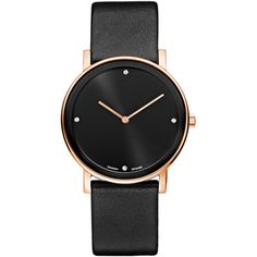 Danish Design Watch for Women Dear Mom, Danish Design, Gift Guide, Rose Gold, Watches, My Style, Gifts, Black, Jewelry