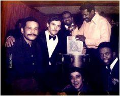 """Ismael Rivera, Joey Pastrana , Kako, Cortijo, Santos Colon y Camilo """"Azuquita"""" #salsalegends"""