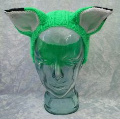 Green Fox Headband