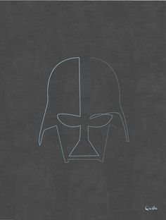 Minimalistic Portraits Of Pop Culture Icons, Drawn With Only One Line - DesignTAXI.com