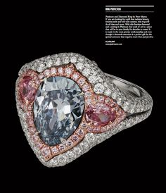Ring Perfection / Platinum and Diamond Ring by Peter Marco / Beverly Hills Lifestyle Magazine / Fall 2013