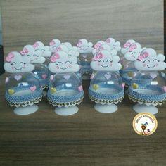Lembrança Chuva de Benção Baby Shower Cakes, Baby Shower Parties, Baby Boy Shower, 1st Birthday Girls, Birthday Diy, Unicorn Party, Unicorn Birthday, Diy Party, Party Favors