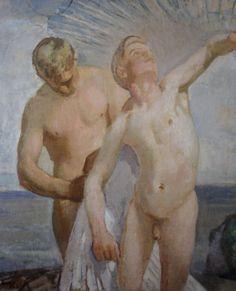 """Icarus"". Magnus Enckell, 1923."