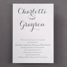 Typography Style - Invitation