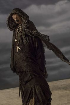 The seer portrayed by John Kavanagh in Vikings