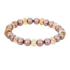 Multicolored Pearl & Citrine Bracelet (MAJORICA2 1060898)