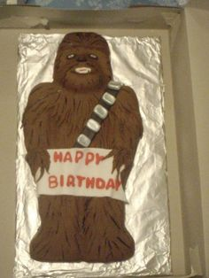 Chewbacca Cake in Our Cake Obsession by