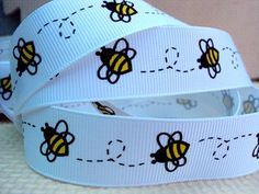 Aliexpress.com : Buy david ribbon 7/8 '' bee grosgrain ribbon hairbows printed ribbon freeshipping from Reliable ribbon suppliers on harry k's store
