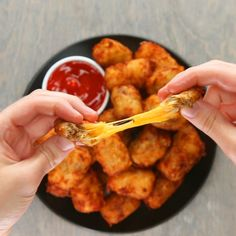 Chili Cheese-stuffed Tots Recipe - Tasty