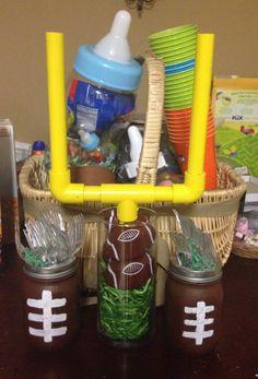 Baby shower football theme
