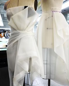 #gillesmendel Draping today ...