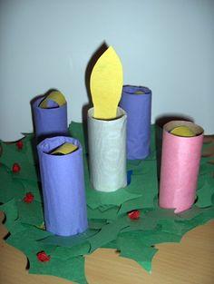 Kids' advent wreath