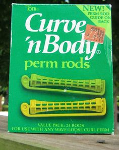 Had to have the perm rods to do your home perm.