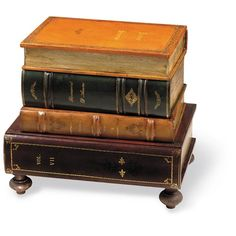 Leather Books Table With Drawer And Bunn Feet