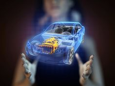 Transparent car concept on hologram - Stock Photo , Hologram Images, Holographic Displays, Cameras For Sale, Digital Camera, Cool Pictures, Concept, Stock Photos, Technology, Photography