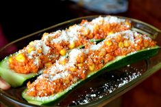 Zapekaná cuketa so zeleninou a kuskusom - Fitshaker Zucchini, Healthy Life, Vegan Recipes, Food And Drink, Pizza, Snacks, Vegetables, Cooking, Fit