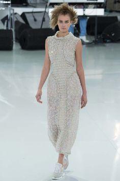 desfile alta costura primavera verano 2014 Chanel