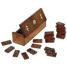 #wooden #Domino #game set @SilkRute.com