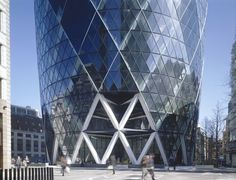 Swiss Re Headquarters, London, England 1998-2004 | © Foster + Partners | Nigel Young