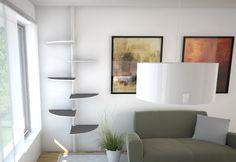 modern cat furniture | white_modern_cat_tree | Cat Furniture