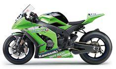 2011 Kawasaki ZX-10R track bike