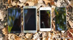 iphone 6s vs iphone 6 vs LG G4 vs Samsung Edge
