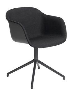 Muuto Fiber - Swivel Base - Front Upholstery | mintroom.de #Muuto #mintroom #shop #stühle #office #plastic #holz #metall #schreibtischstühle #alle