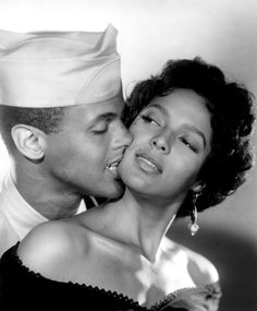 Harry Belafonte and Dorothy Dandridge in Carmen Jones