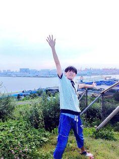 """の子さんはTwitterを使っています: """"TOKYO ISLANDフェス着いた!☀️ 鹿野すんがぼくのためにwifiを用意してくれたみたいだ!なんていい奴や!!! だから5時45ふんくらいからライブ配信をツイキャスでやるね!☆ http://t.co/Kd25Wh0YES"""""""