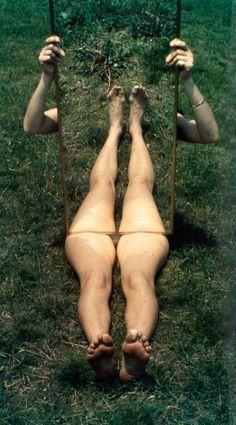 Mirror Piece I, 1969.    Photo by Joan Jonas