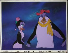 Hubie and Marina setup cel key background 040 70 77 - The Pebble and the Penguin