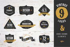 Popular Logo Templates ~ Creative Market