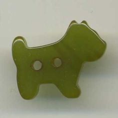 vintage bakelite dog button