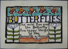 Butterflies, by Walter Anderson