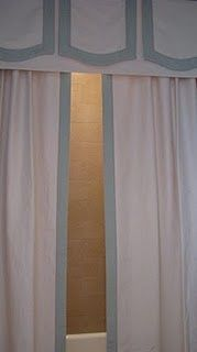 shower curtain: