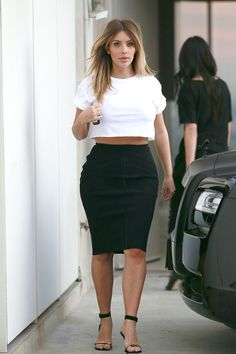 Kim wears a sexy mesh top out on Nov. 18, 2013. Getty Images -Cosmopolitan.com