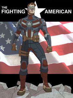 The Fighting American by khazen.deviantart.com on @DeviantArt