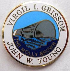 Gemini 3 Mission Lapel Pin