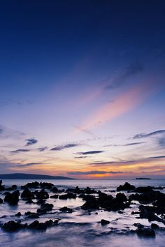 Hawaii, Maui, Makena, Dramatic Vibrant Sunset | View Hotel Deals to Hawaii! Maui, Hawaii, Romantic Vacations, Hotel Deals, Vibrant, Clouds, Mountains, Sunset, Nature