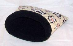 Kuschelsack, Schlafsack f. Meerschweinchen, Chin von Lazzyy's Kuschelshop auf DaWanda.com