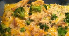 chicken broccoli casserole - may have to figure out an alternative to the cream of mushroom soup