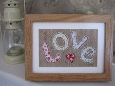 from Ticketty Boo. textile art love