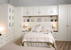 When you want to have a classical type of your bedroom décor, it will be great if you consider the ivory bedroom furniture as the alternative properties Ivory Bedroom Furniture, Wardrobe Furniture, Wardrobe Design Bedroom, Bedroom Decor, Bedroom Ideas, Small Master Bedroom, Modern Bedroom, Tranquil Bedroom, Simple House Plans