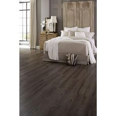 Islander 9 in. x 70.87 in. Slate Extra Wide Click Engineered Luxury Vinyl Plank (17.72 sq. ft. / case) 30-2-013 at The Home Depot - Mobile